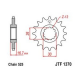Zestaw napędowy DID ZVMX / JT Honda CBR 600 RR 07-15