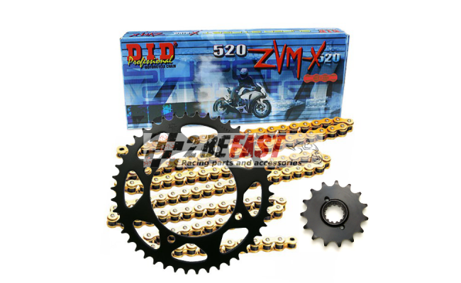 Zestaw napędowy DID ZVMX / JT Yamaha TDM 900 02-13