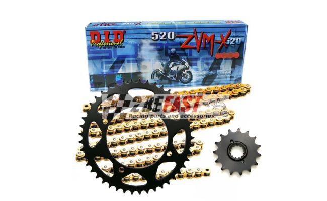 Zestaw napędowy DID ZVMX / JT Triumph Street Triple 675 08-12
