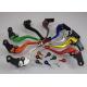 Krótkie sportowe dźwignie sprzęgła i hamulca Kawasaki ZX6R 636 00-04