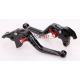 Krótkie sportowe dźwignie sprzęgła i hamulca Kawasaki ZX6R 636 05-06