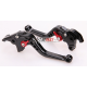 Krótkie sportowe dźwignie sprzęgła i hamulca Yamaha TDM 900 06-09