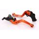 Krótkie sportowe dźwignie sprzęgła i hamulca Ducati Hypermotard 821 13-15