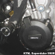 KTM 990 Supermoto / Super Duke 05-14 - zestaw osłon dekli silnika GB Racing