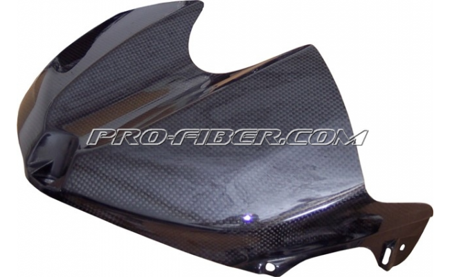 Yamaha R6 08-15 - carbon - nakładka zbiornika / airboxa
