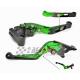 Łamane regulowane dźwignie sprzęgła i hamulca Kawasaki ZX6R 636 00-04