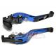 Łamane regulowane dźwignie sprzęgła i hamulca Kawasaki ZX10R 06-15