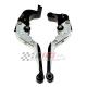 Łamane regulowane dźwignie sprzęgła i hamulca Ducati Monster 696 08-14