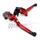 Łamane regulowane dźwignie sprzęgła i hamulca Ducati Monster 1000 02-08