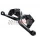Łamane regulowane dźwignie sprzęgła i hamulca Ducati Hypermotard 1100 S / EVO SP 07-13