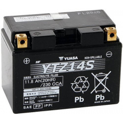 Akumulator YUASA YTZ 14S