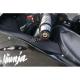 Końcówki (ciężarki) kierownicy Womet-Tech Kawasaki Z750 / Z1000 / ER6N / Versys